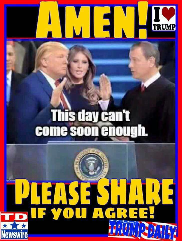 .DO I EVER AGREE WITH THIS.....PEOPLE....LET'S MAKE THIS HAPPEN.....REMEMBER PEOPLE WE GOT TO VOTE THIS TIME.....GET OUT AND VOTE....VOTE TRUMP.!!!!