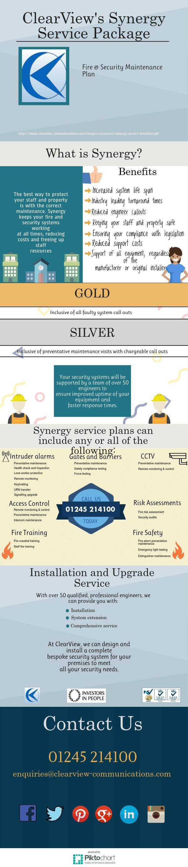 Synergy Package   @Piktochart Infographic