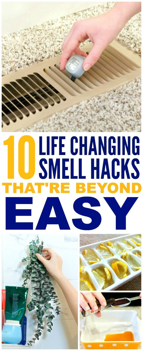 These 10 easy ways to make your home smell good and fresh are THE BEST! I'm so happy I found these GREAT tips! Now I have a great way to make my home smell great with these smell hacks! Definitely pinning!