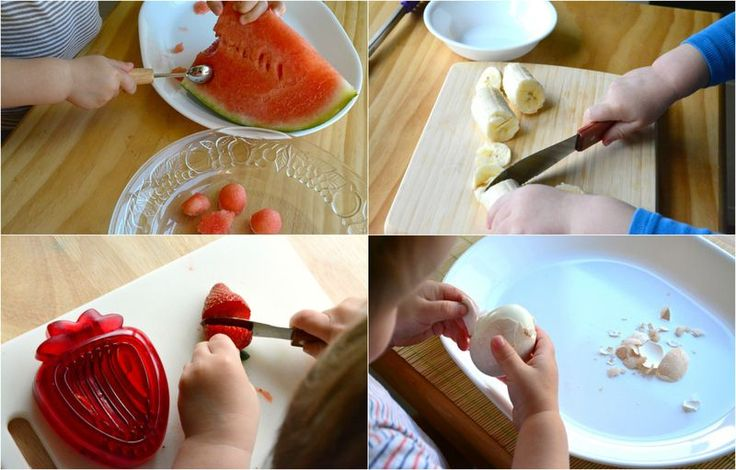 Toddlers in the kitchen part 2 at How we Montessori
