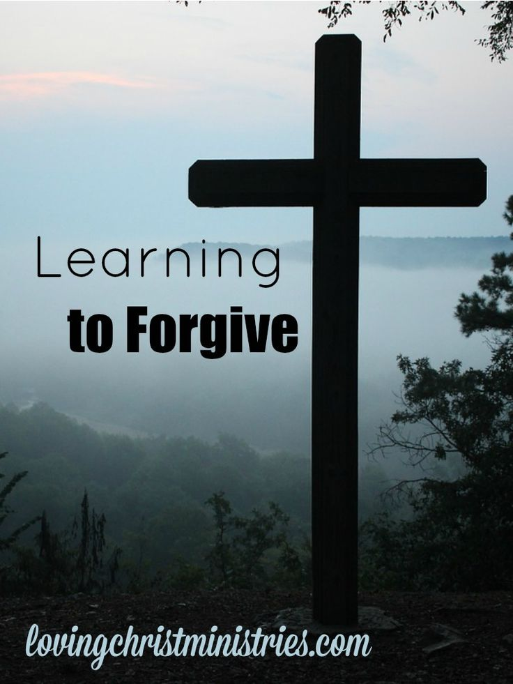 learning to forgive Are adult arguments hurting our children's learning  there is another type of  arguing that can actually build relationships and learning.