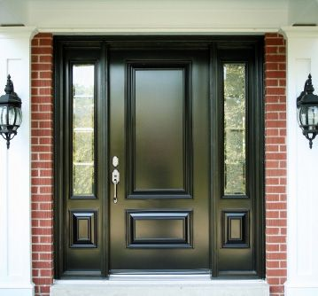 Fiberglass Exterior Front Doors | Another advantage of the given fiberglass door is a door is resistant ...