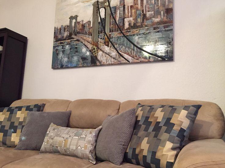 Couch Pillow Arrangement & Best 25+ Couch pillow arrangement ideas on Pinterest   Accent ... pillowsntoast.com
