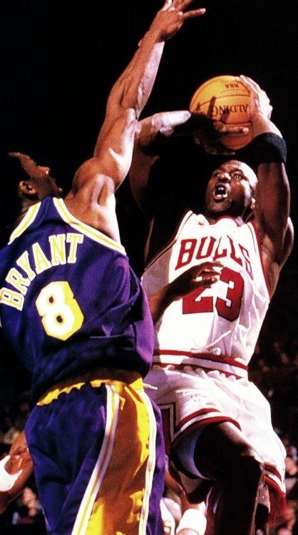 1998 MJ over Kobe