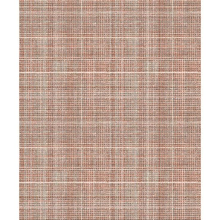 Arthouse Tweed Rust NonWoven Wallpaper, Red Home art