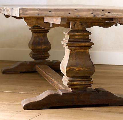 Farm Trestle Table Kitchen Table