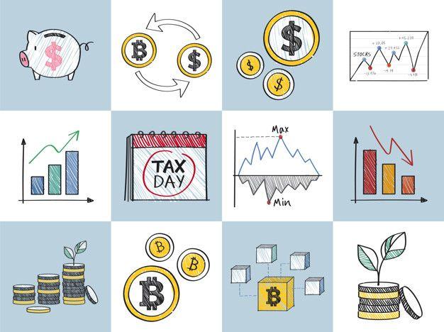 Ilustración De Concepto De Finanzas Y Rendimiento Financiero Vector Gratuito Concepto De Finanzas Finanzas Tips Para Ahorrar Dinero