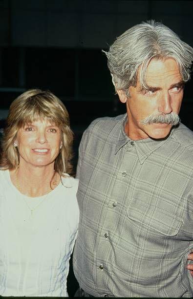 STATES - Actor Sam Elliott and wife Katharine Ross, circa 1990.
