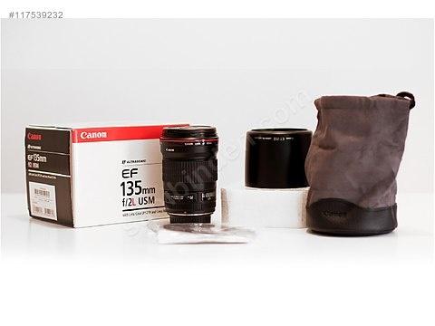 Kutusunda sıfır Canon 135mm F2 L Kusursuz - Canon SLR Lens Çeşitleri sahibinden.com'da - 117539232