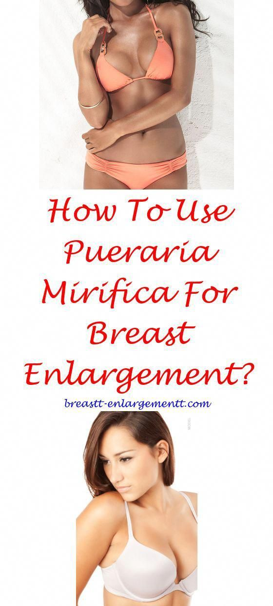 Breast enlargement before period