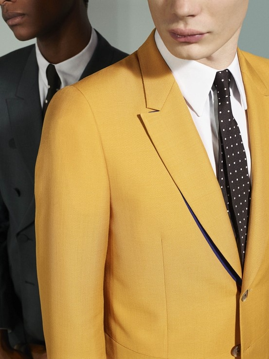 Paul Smith SS13 advertising campaign. Simple but affective. Let the threads do the talking.