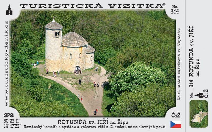 CZ-314 - Rotunda sv. Jiří na Řípu