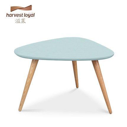 溢莱北欧时尚小户型边桌实木小茶几创意简约沙发边几角几客厅茶桌-tmall.com天猫