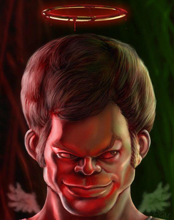 Caricature Dexter