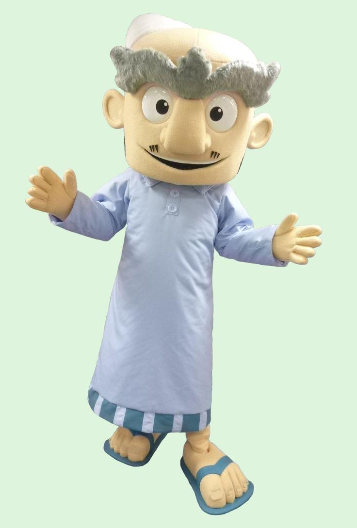 Shambe - UAE #mascot #costume #character #UAE