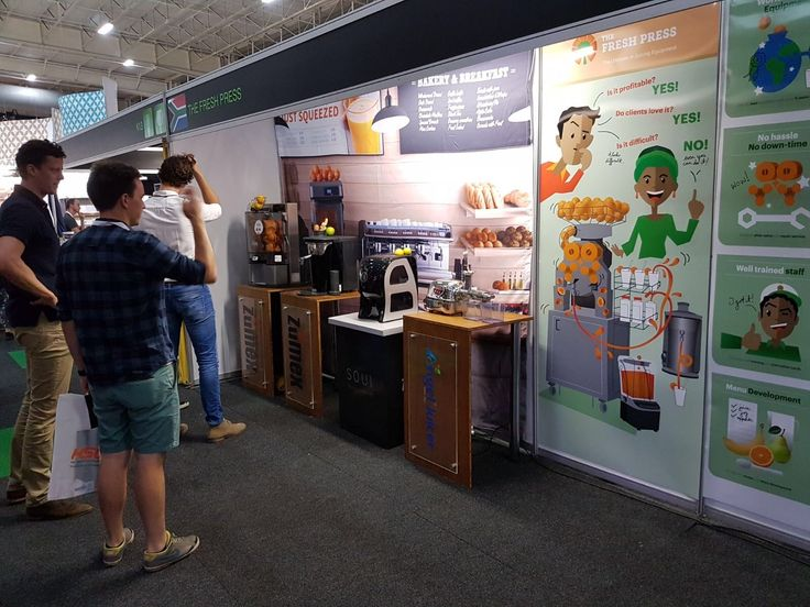 Good morning from #Johannesburg :) Today is our last day at Food and Hospitality Africa thanks to our distributor The Fresh Press. Come and discover our latest news!