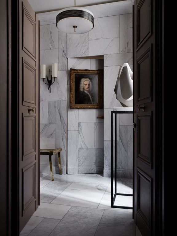 #Doors in this Entrance Foyer #design #interiordesign