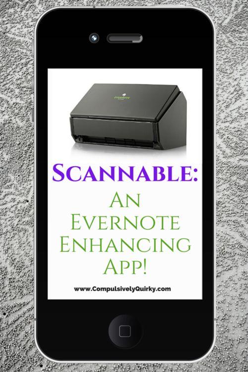 Jan 15 Scannable An Evernote Enhancing App