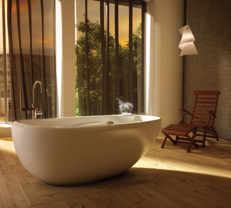 designed long bathrooms.  Design Trending Soaking Tubs Make a Statement in Today s Baths Few things equate 134 best Freestanding Bathtubs images on Pinterest Bathrooms