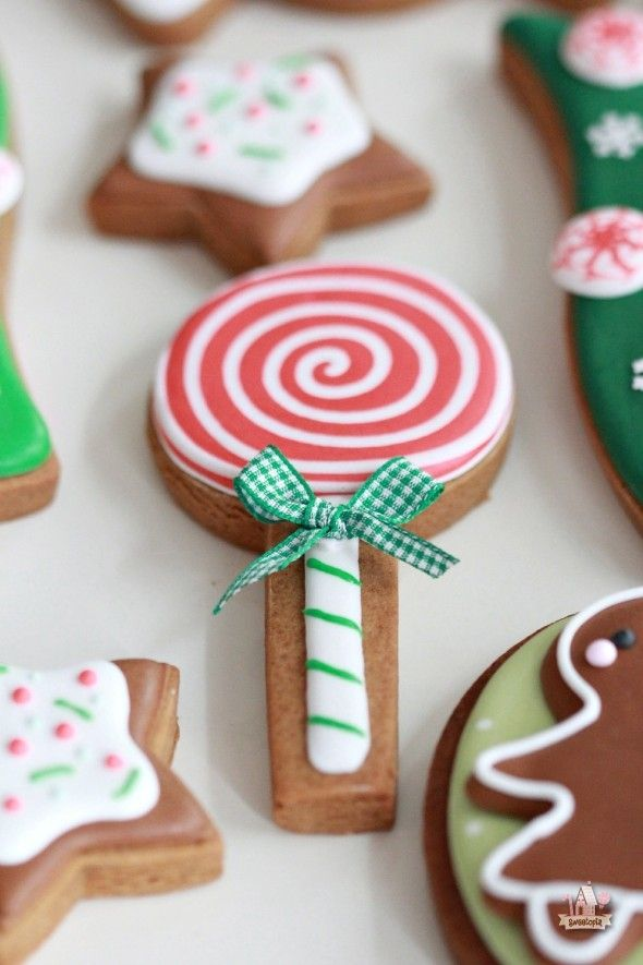 Love this lollipop cookie by Sweetopia.