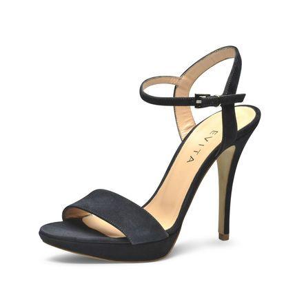 Evita Shoes Damen Sandalette, dunkelblau