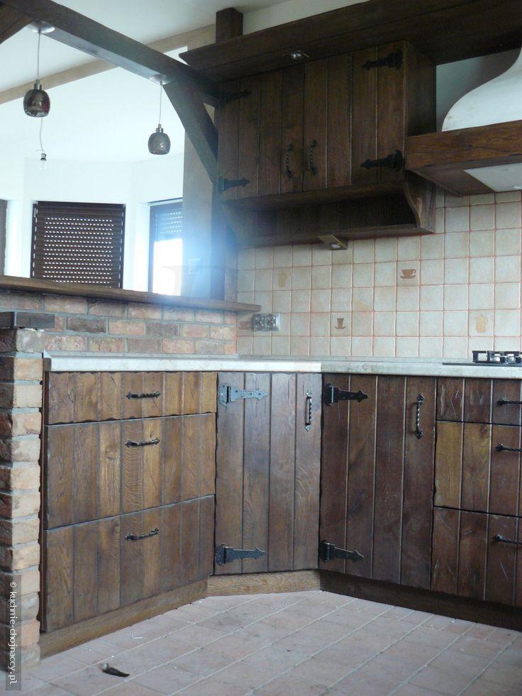 Kuchnia wiejska - Kuchnie Chojnaccy - Meble kuchenne - Rustykalne, tradycyjne, nowoczesne