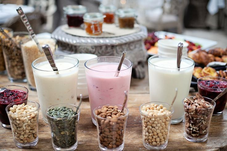 Healthy #breakfast at Hout Bay Manor ~ seeds, nuts, yoghurts