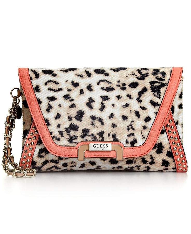 GUESS Handbag, Caytie Small Envelope Clutch  - Macy's