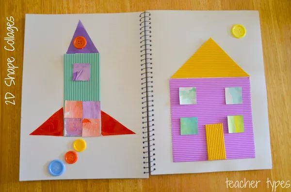 Math Activities: Learning About 2 & 3D Shapes | Childhood101