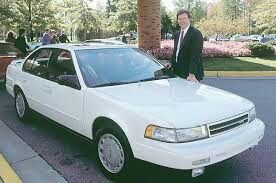 1991 Nissan Maxima SE w/Bob Thomas, CEO for Nissan Motor Company From 1991-1997