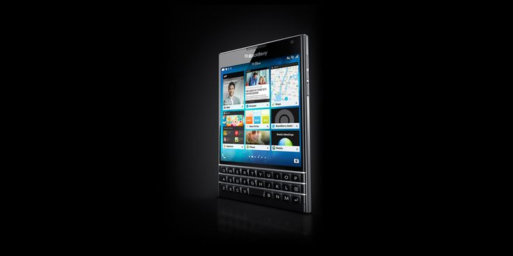 The BlackBerry® Passport has a large square touch screen for an amazing viewing & reading experience, plus a touch-enabled keyboard. Register for details. - Global