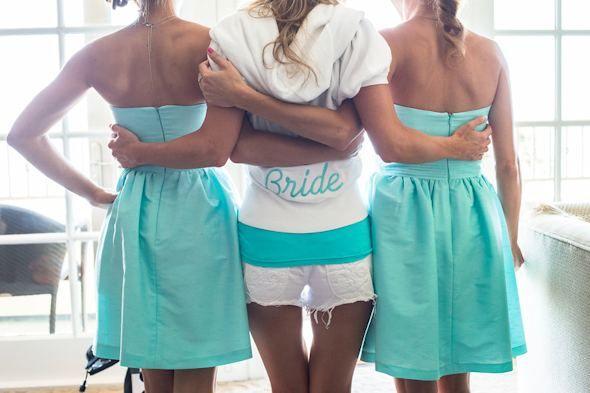 78 Best Ideas About Aqua Bridesmaids On Pinterest