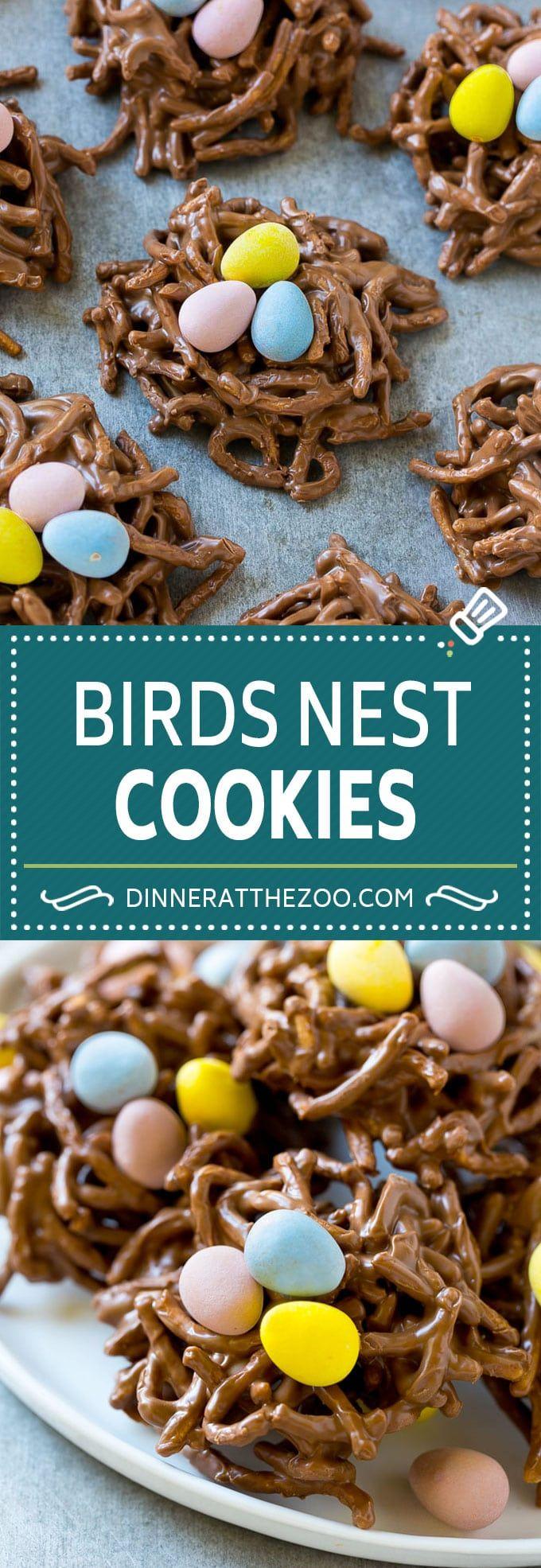 Birds Nest Cookies | Chow Mein Noodle Cookies | Easter Cookies | No Bake Cookies