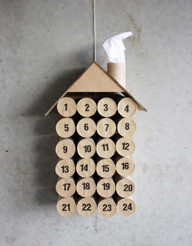 30 DIY Calendars to Help You Count Down to Christmas | Brit + Co