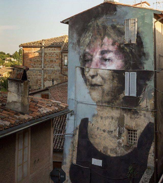 Fran Bosoletti in Acquapendente, Italy, 2016