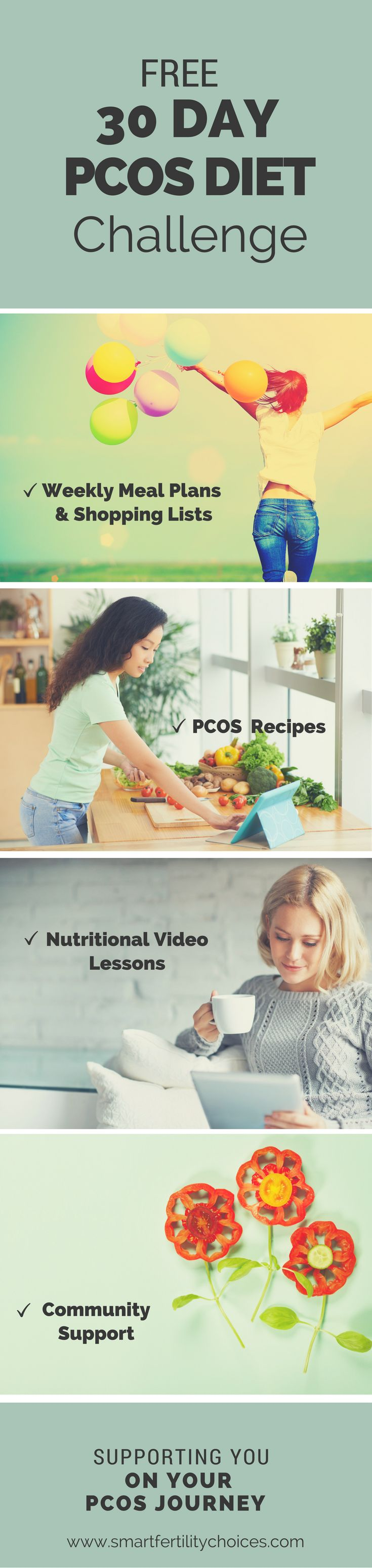 30 day Pcos diet challenge