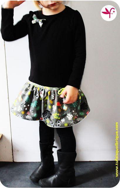 La robe tee-shirt d'Automne! LE TUTO