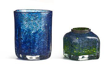 Benny Motzfeldt, Glass Vases. Plus, Norway