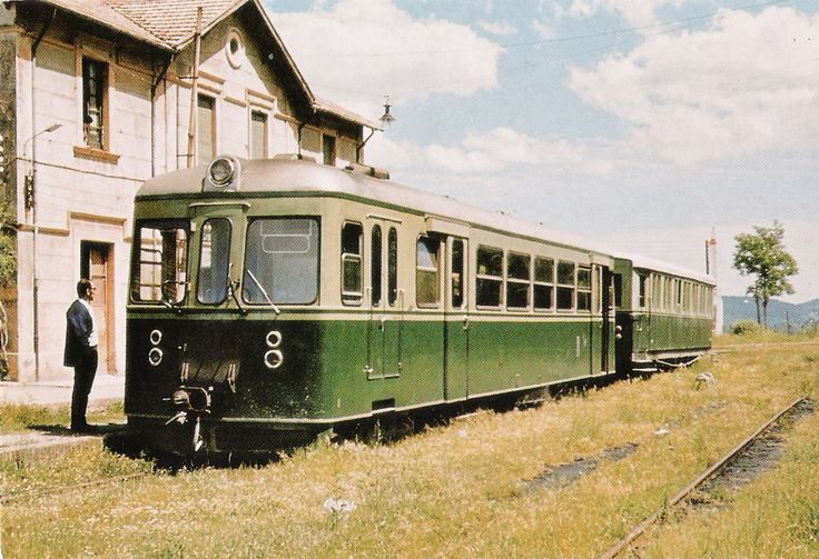 Ferrocarril Olot-Girona. Automotor Ferrostaal