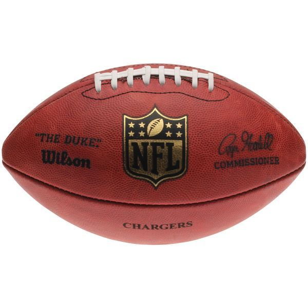 "Los Angeles Chargers Wilson ""The Duke"" Official Size Replica Game Football - $129.99"