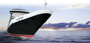 The Queen Elizabeth Cruise Ship....that would be awesome!