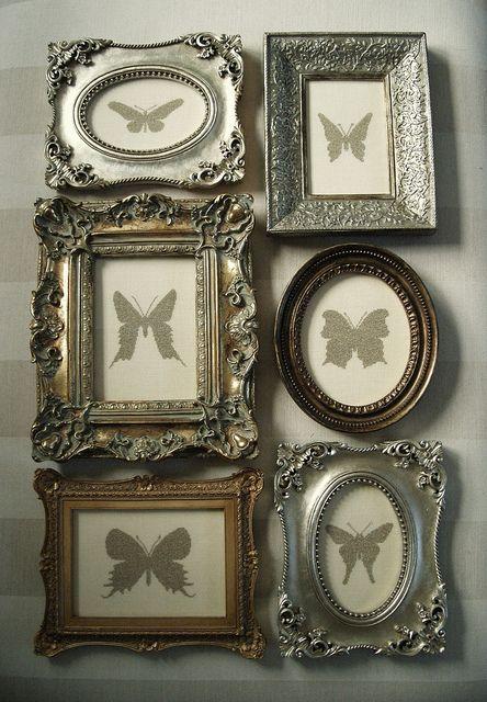 #Marcos con diferentes #diseños en #plata para la #elegancia de tus #imágenes. #marcos
