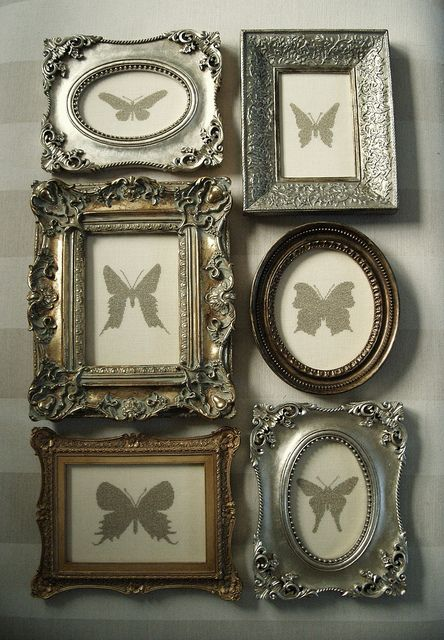 i like the idea of mixing a bit of the classic with vintageshabby chic