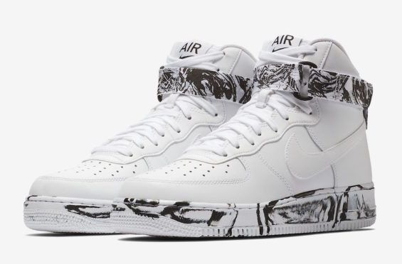 Check Out The New Nike Air Force 1 High Marble Pack | New