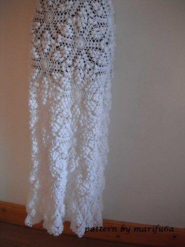 crochet wedding dress pattern pdf