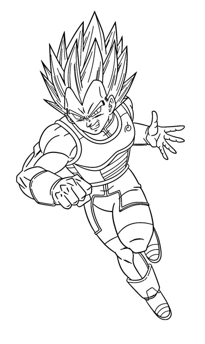 Super Saiyan In 2020 Dragon Ball Super Art Coloring Pages Dragon Pictures