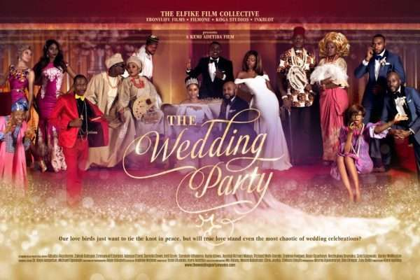 5 highest grossing Nollywood movies in 2016, see where 'The Wedding Party' ranks