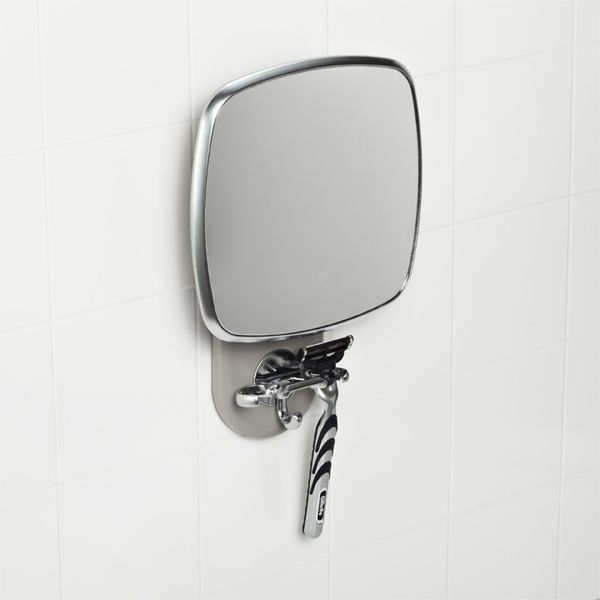 Our ultra-practical Anti Fog Shower Mirror beats the heat in the bathroom, providing a clear reflection regardless of steam.