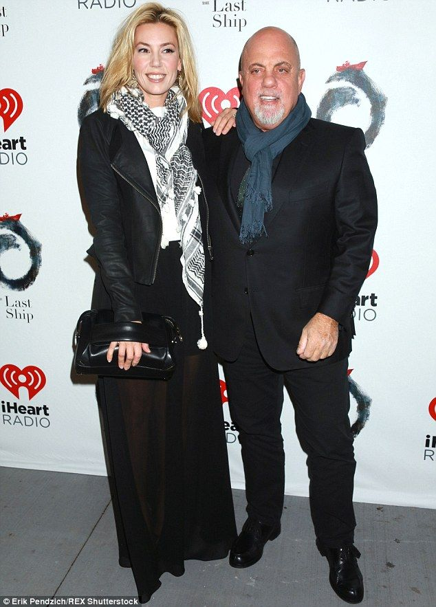 Billy Joel, 66, and pregnant girlfriend Alexis Roderick, 33   Billy and Alexis began dating in 2009, following his split from third wife Kati...