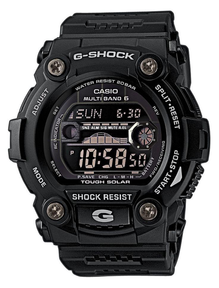 Casio G-Shock GW-7900B-1ER férfi karóra. A karóra elképesztő külsőt kapott, mely sportos megjelenést kölcsönöz. Kényelmes viselet a műanyag szíjnak köszönhetően. Az óra egy beépített napkollektor segítségével generál energiát, így nincs szüksége hagyományos elemre és elemcserére sem. OLVASS TOVÁBB!